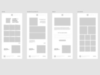 First Approach for web redesign