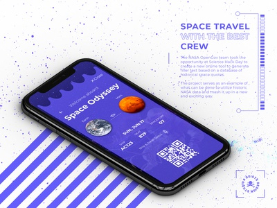 Daily UI Challenge No. 24 - Boarding pass
