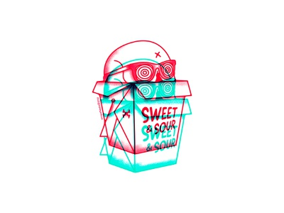 Life is sweet and sour vector stickers questioneverything punk illustration punkrock design