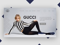 Gucci Web Design