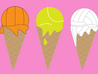 Sport Flavored Ice Cream