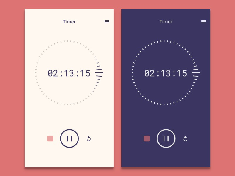 Daily UI 014 - Countdown Timer ui ux design daily ui timer challenge daily design ux ui