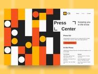 Daily UI 051 - Press Page