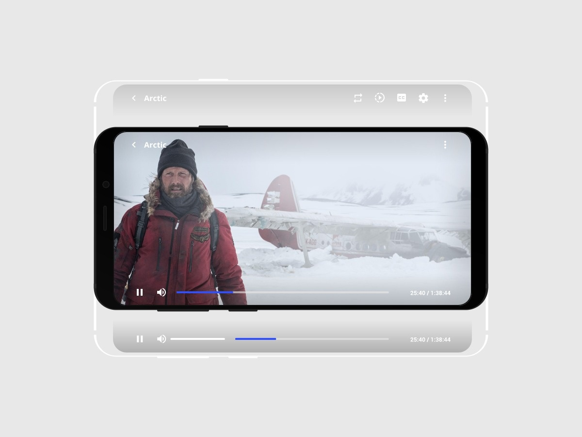 Daily UI 057 - Video Player app 057 player video minimal mobile ux design daily ui challenge ui