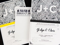 Jeslyn and Chris Wedding Invite