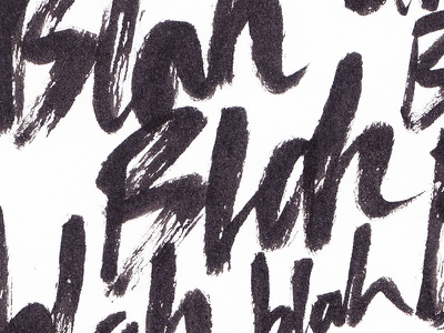 Politics hand lettering brush brushpen lettering politics blah