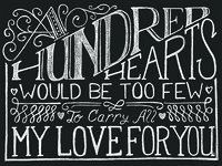 A Hundred Hearts