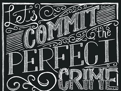 Perfect crime small
