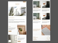 Responsive Email Template – The Calile Hotel