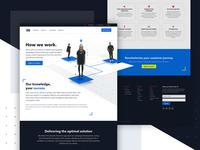 How we work web design | Ve Global