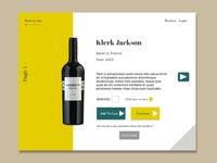 Web Design Wine Store
