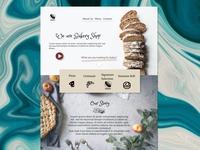Bakery Themed Website