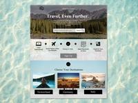 Travel Theme Website