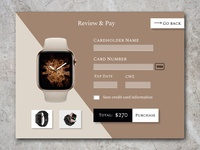 Classic Watch Payment Modal