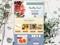 Organic Supermarket Website