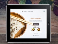 Restaurant UI Element