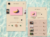 Music Player UI Element 2
