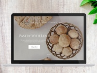 Bakery Online Shop Landing Page