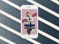 Women's Fashion Landing Page for mobile