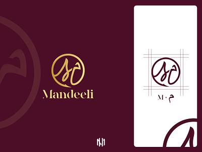 Mandeeli Logo Design icon vector typography logo illustration branding design