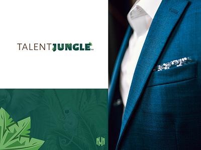 Talent Jungle Logo Design web adobe photoshop advertising banner minimal graphic design cvlogo icon vector typography logo illustration branding design