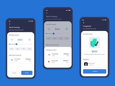 Bank Application for Money transaction