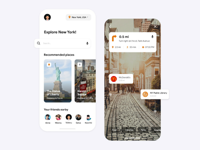 Mobile Application for AR Tour Guide