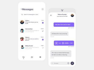 Message Application