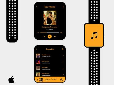 Music watch app
