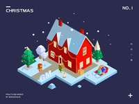 isometric-Christmas