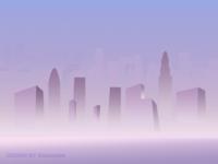 风景4-雾霾