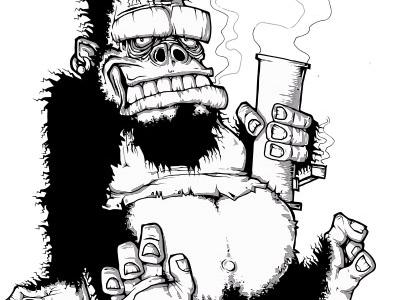 King Bong Inktober