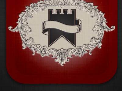 Still reworking Heritage logo app iphone ios coaches loupe