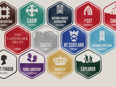 Getting there! ios badge heritage