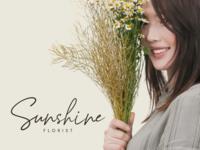 Sunshine Florist Branding