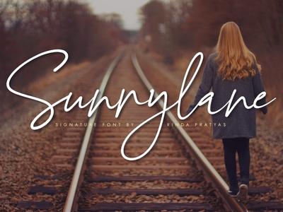 Sunnylane Signature Font