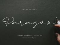 Paragon Luxury Font