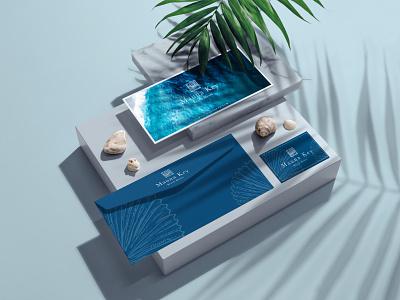 Mauna Key Beach House brand design branding identity logo design branding logo design concept logo design boutique hotel hotel branding stationary design branding design brand identity