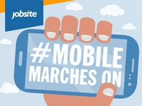 Infographic - Mobile marches on