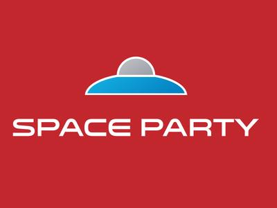 Space Party Logo V2
