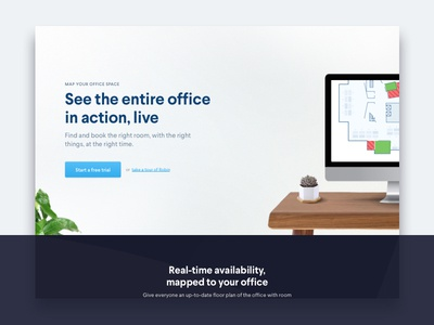 🗺 Maps Page map your office art direction photoshop marketing site robin