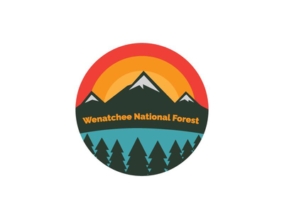 Wenatchee National Forest - Thirty Logos Challenge Day 25