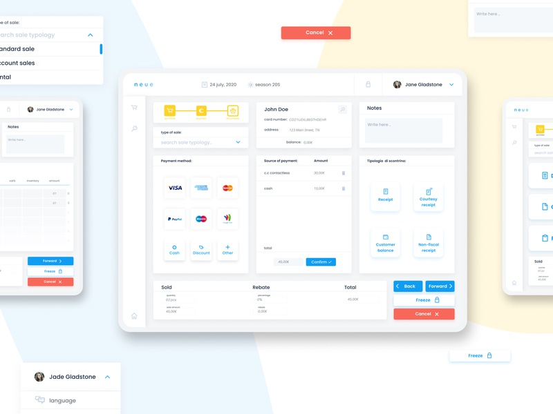 Check out this Check-out System! | Ui Ux user interface ui user experience ux sales purchase products payment dribbblers illustration figma documents