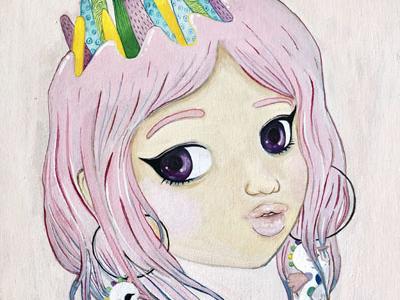 Pink Crown Girl
