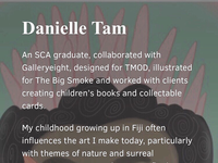 Danielle Tam on The Style File