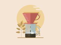 V60 filer coffee