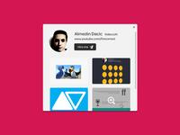 Dribbble widget