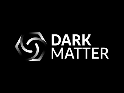 🍋 Dark Matter Logo 🍋 crypto currency crypto illustration design corporate identity logodesign logo corporate design branding dark logo dark matter gradient logo gradient