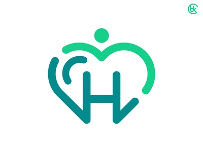 ⚡️ HEALTH CARE HEART LOGO ⚡️