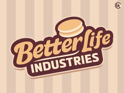 🥞⚡️ Better Life Industries Logo Design ⚡️🥞